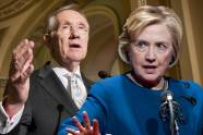 Harry Reid, Hillary Clinton