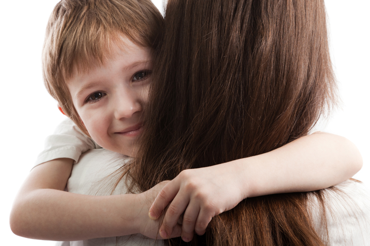 Image result for boy hugging a mom pic