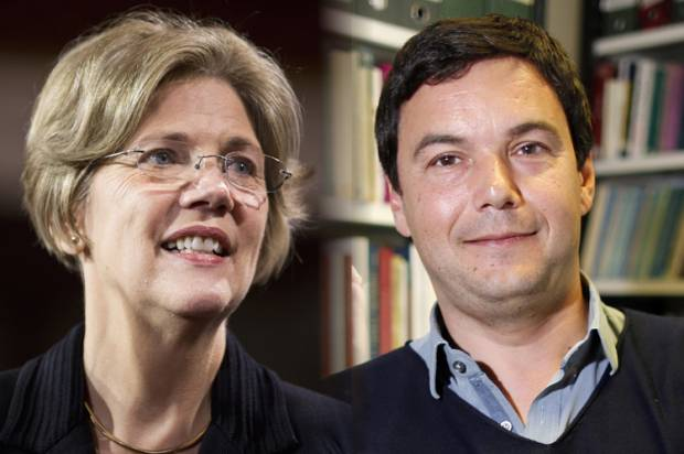 How Thomas Piketty and Elizabeth Warren demolished the conventional wisdom on debt