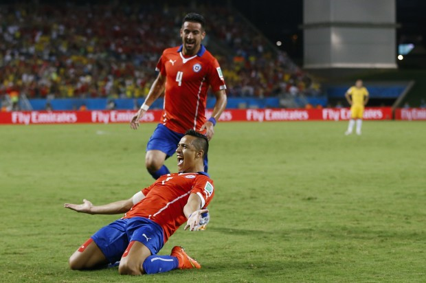 ) — Alexis Sanchez scored one goal and set up another to help Chile ...