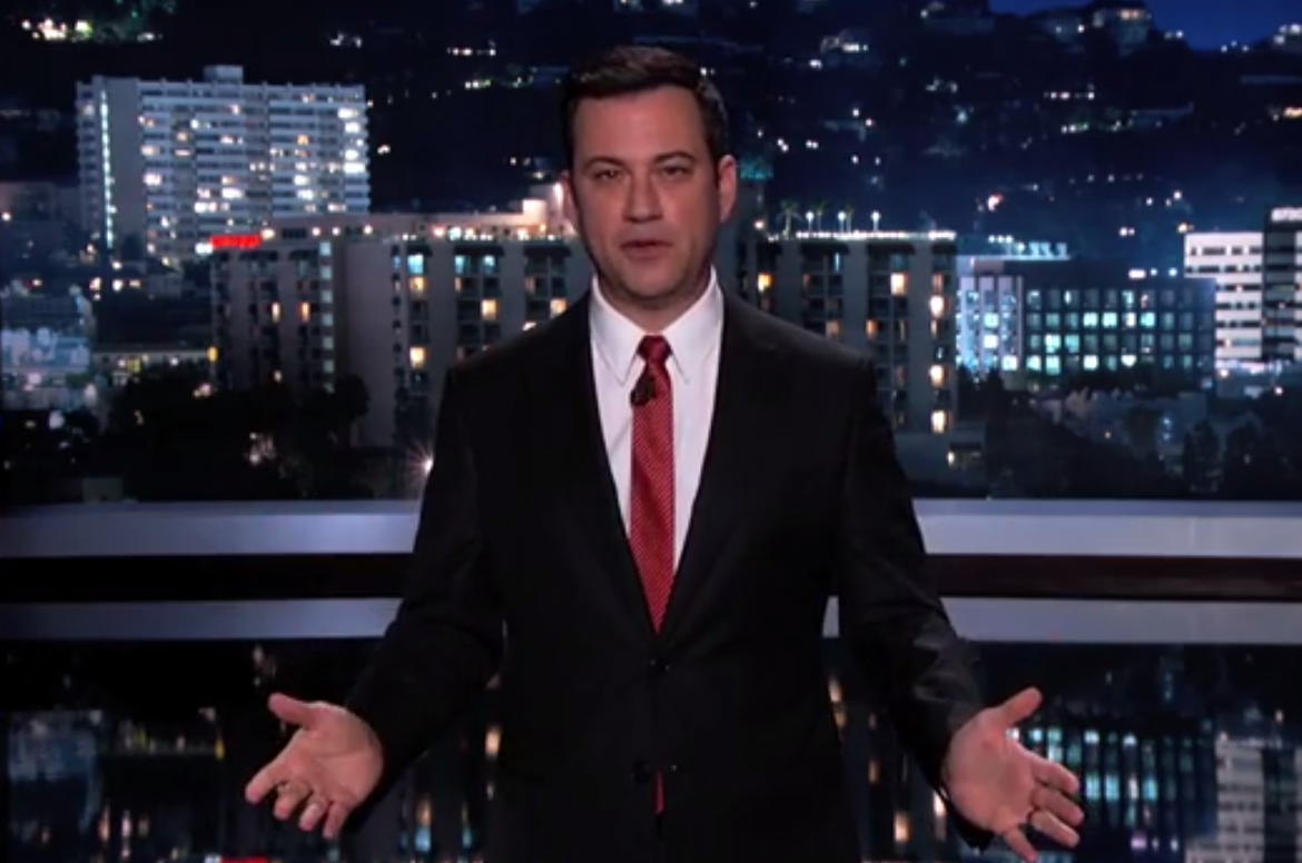 Jimmy Kimmel pranks Apple lovers by showing off the new
