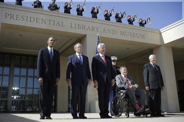 The animatronic presidency: How presidential museums become propaganda palaces, whitewashing Bush's disasters and Clinton's failings