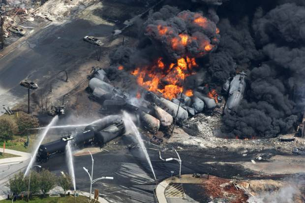 Climate-denying congressman: Oil train safety rules are actually a government plot to limit fossil fuels