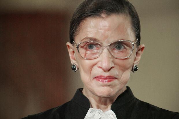 ruth bader ginsburg wants women supreme court