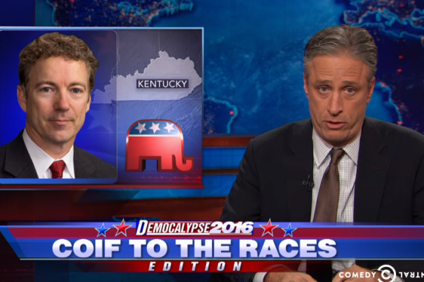 Must-see morning clip: Jon Stewart wants Rand Paul to pick an opinion and stick with it