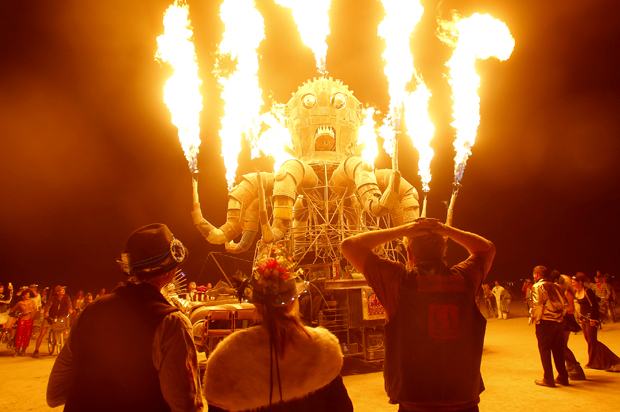Why Burning Man is not an example of a loosely regulated tech utopia