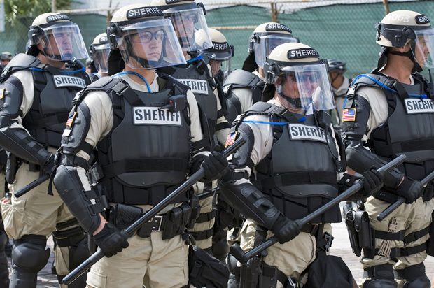 "Militarized police are everywhere: ""When police officers are armed and trained like soldiers, it's not surprising that they act like soldiers"""