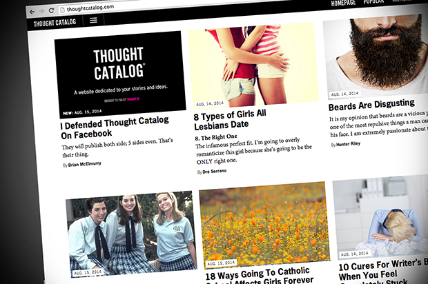 Thought catalog dating site