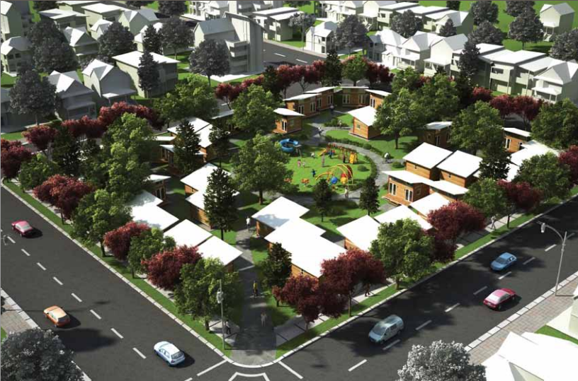 Portland's Planning A Village Of Tiny Houses For The