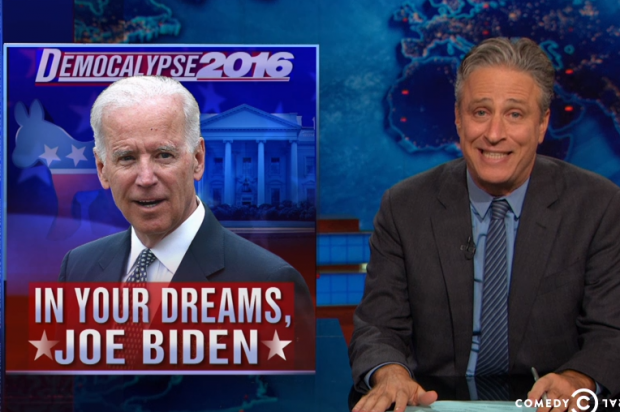 Must-see morning clip: Jon Stewart explains why Joe Biden will never be president