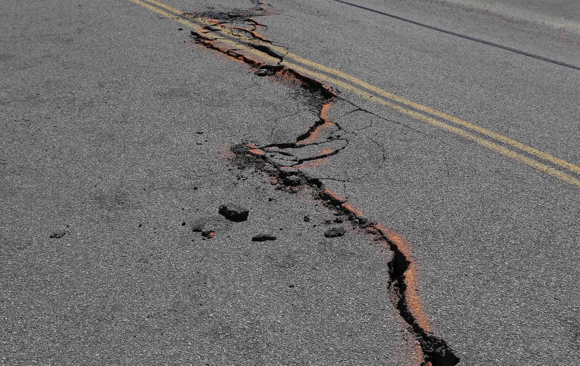 Earthquake Drought California
