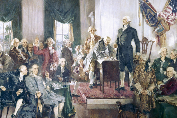 How do you think the people felt while signing the Constitution? Easy 10 pts, just opinions!?