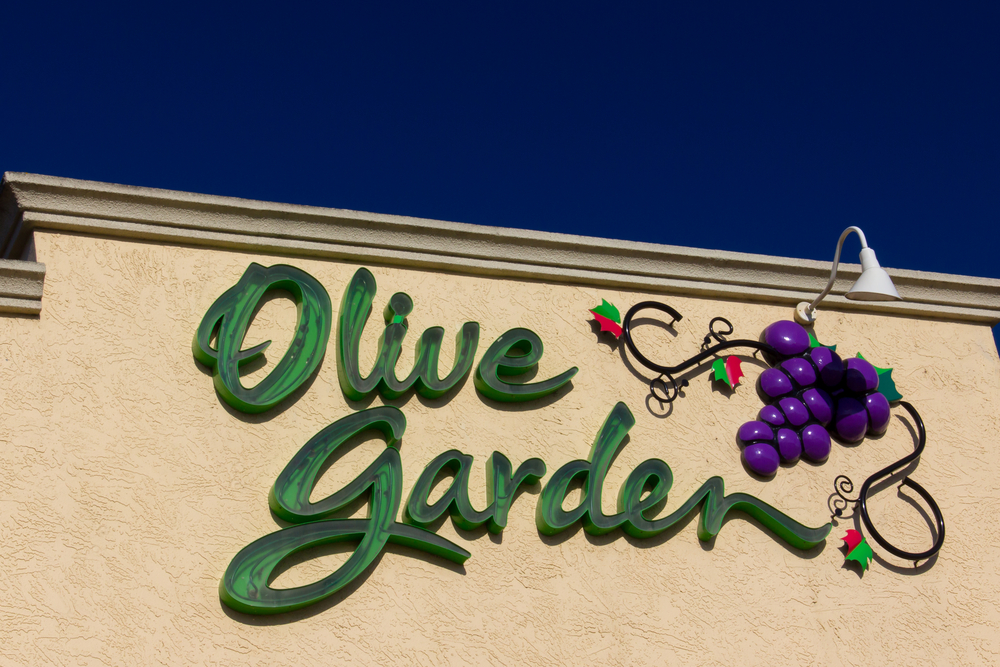 Olive garden has unlimited breadsticks also lots of labor issues illness outbreaks and an for Call the olive garden