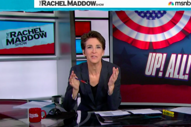Rachel Maddow says what we're all thinking about John Oliver