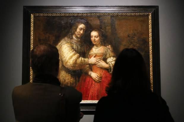 Britain Rembrandt Exhibition