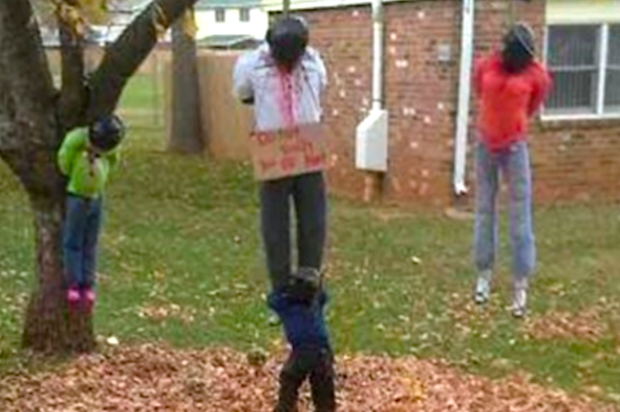 "Horrific ""lynching"" display removed from home on Kentucky Army base"