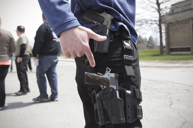 Gun Extremists Ghastly New Low A Fight Over Quot Open Carry