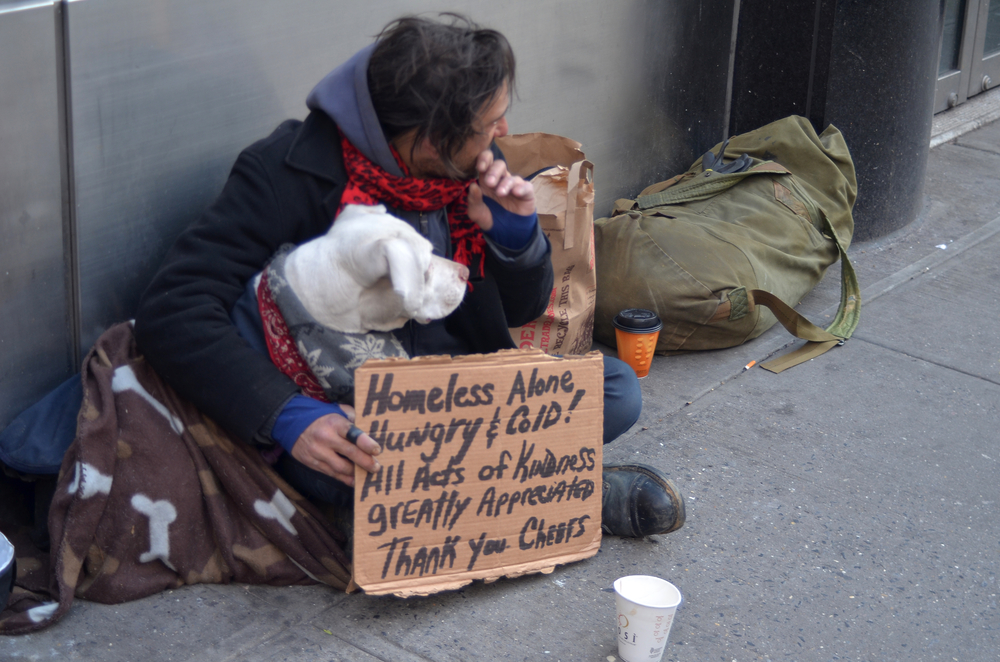Consider, Sex with homeless people