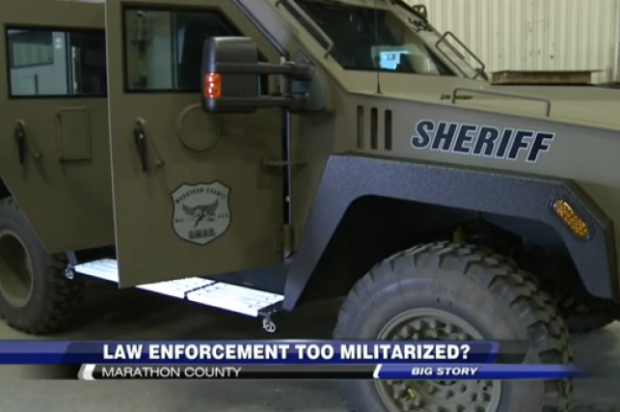 Small Wisconsin town sends in SWAT team to collect debt from 75 year-old man