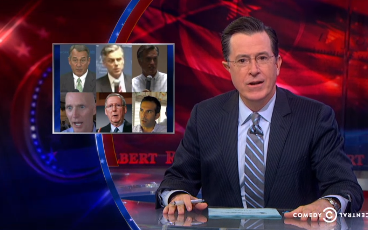 colbert report book list 2014