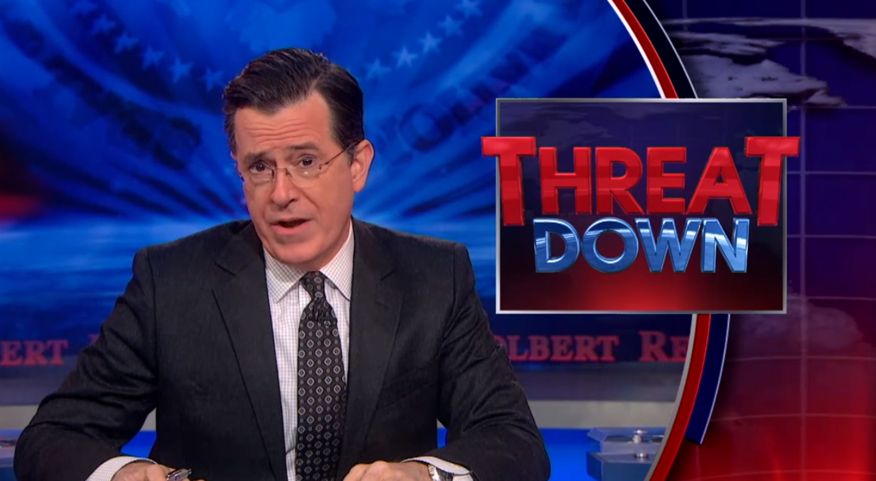 Stephen Colbert is fearful of a potential chocolate shortage ...