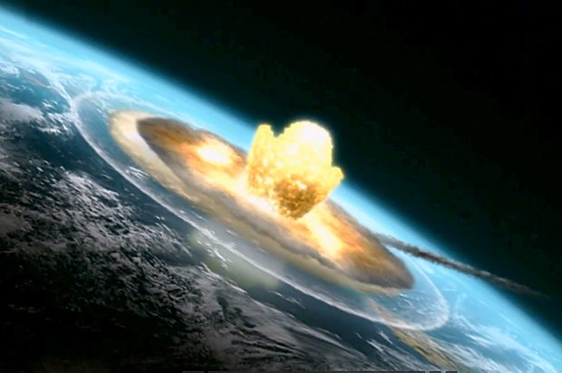 Nuclear Hoax - Nukes Do Not Exist! Asteroid_extinction