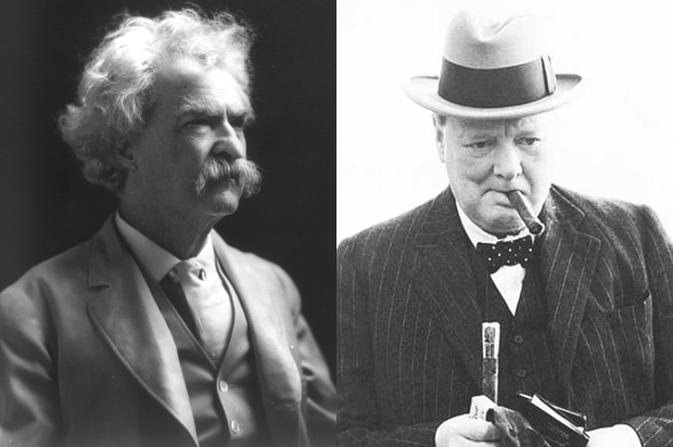 When Mark Twain roasted Winston Churchill: Two master wits on the same stage