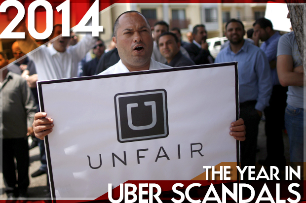 The Year in Uber scandals: A surge-priced cruise through the