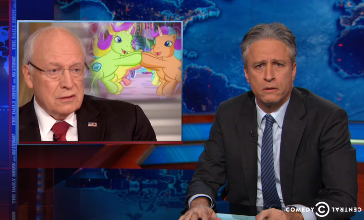 Have cheney dick john stewart