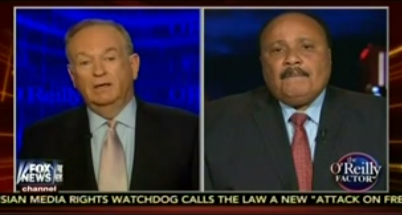 "Bill O'Reilly: Black People Should Wear ""Don't Get Pregnant at 14″ T-Shirts"