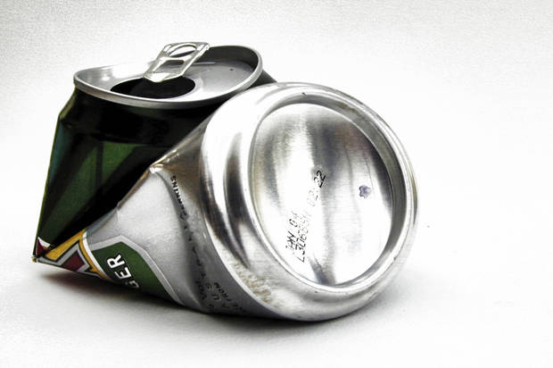 My fraternity years as an out gay man - Salon.com  Crushed Beer Can