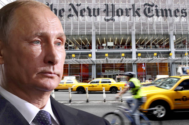 Distortions, lies and omissions: The New York Times won't...