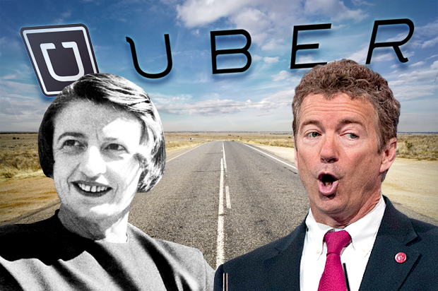 The sharing economy is a lie: Uber, Ayn Rand and the truth about tech and libertarians