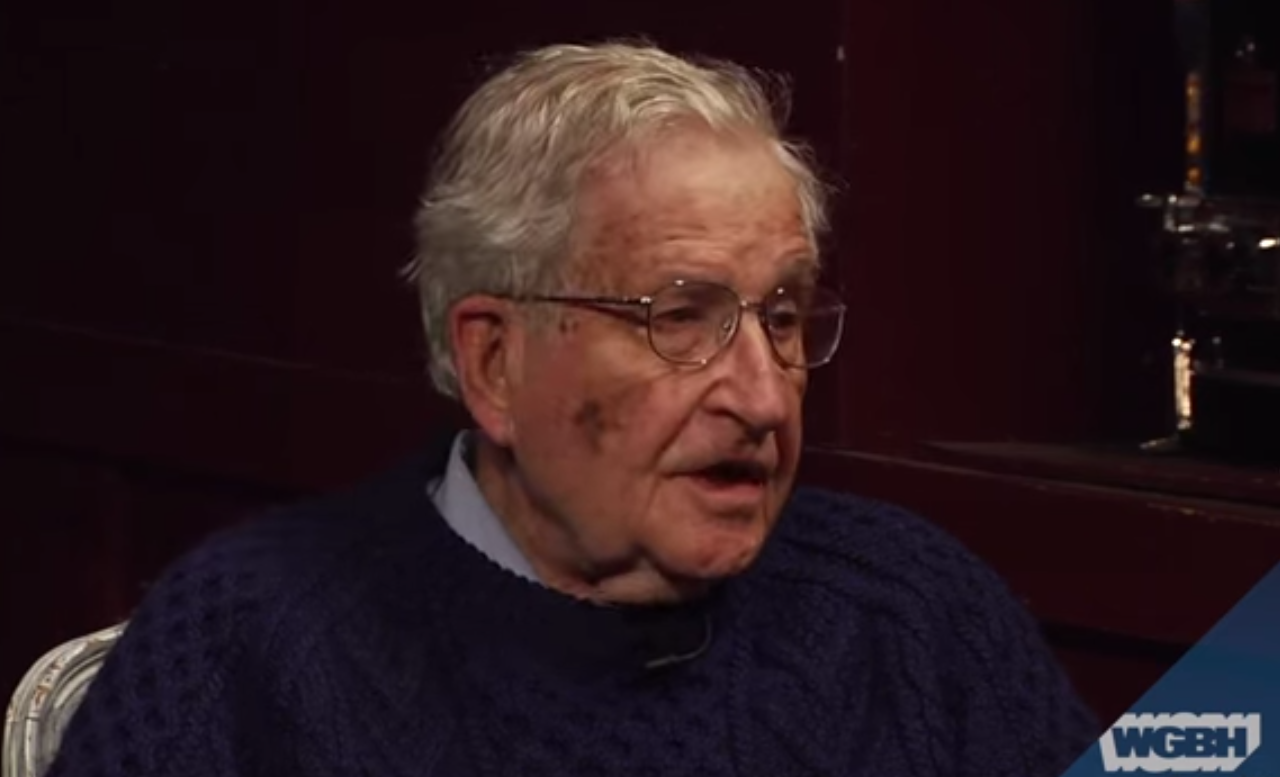 noam chomsky com noam chomsky predicted the rise of donald trump six years ago