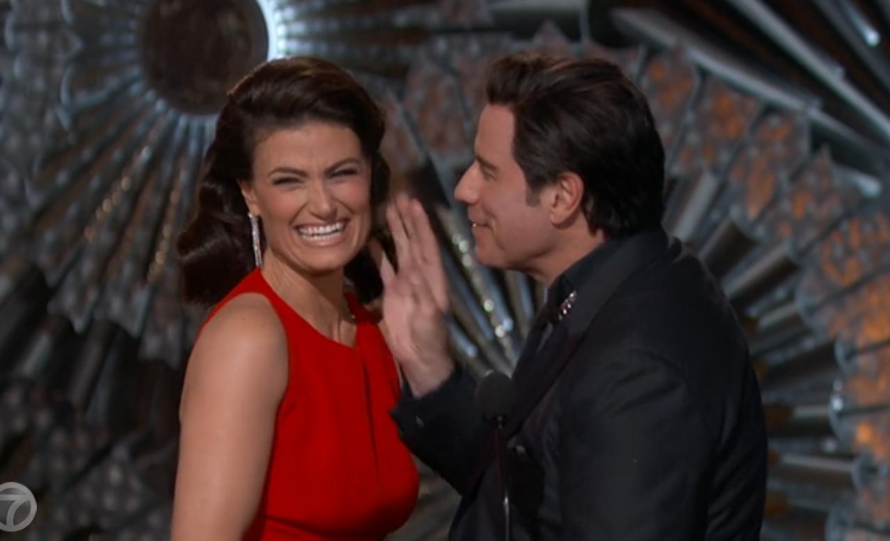 John Travolta, Joe Biden and why men touch womens bodies