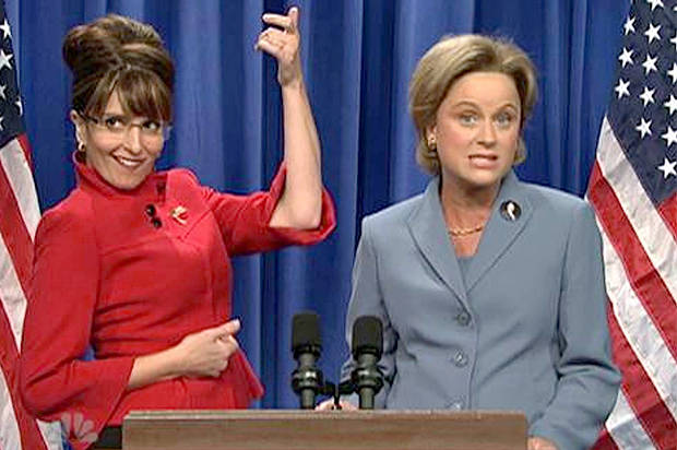 Tina Fey's impersonation of 2008 Vice Presidential candidate Sarah Palin