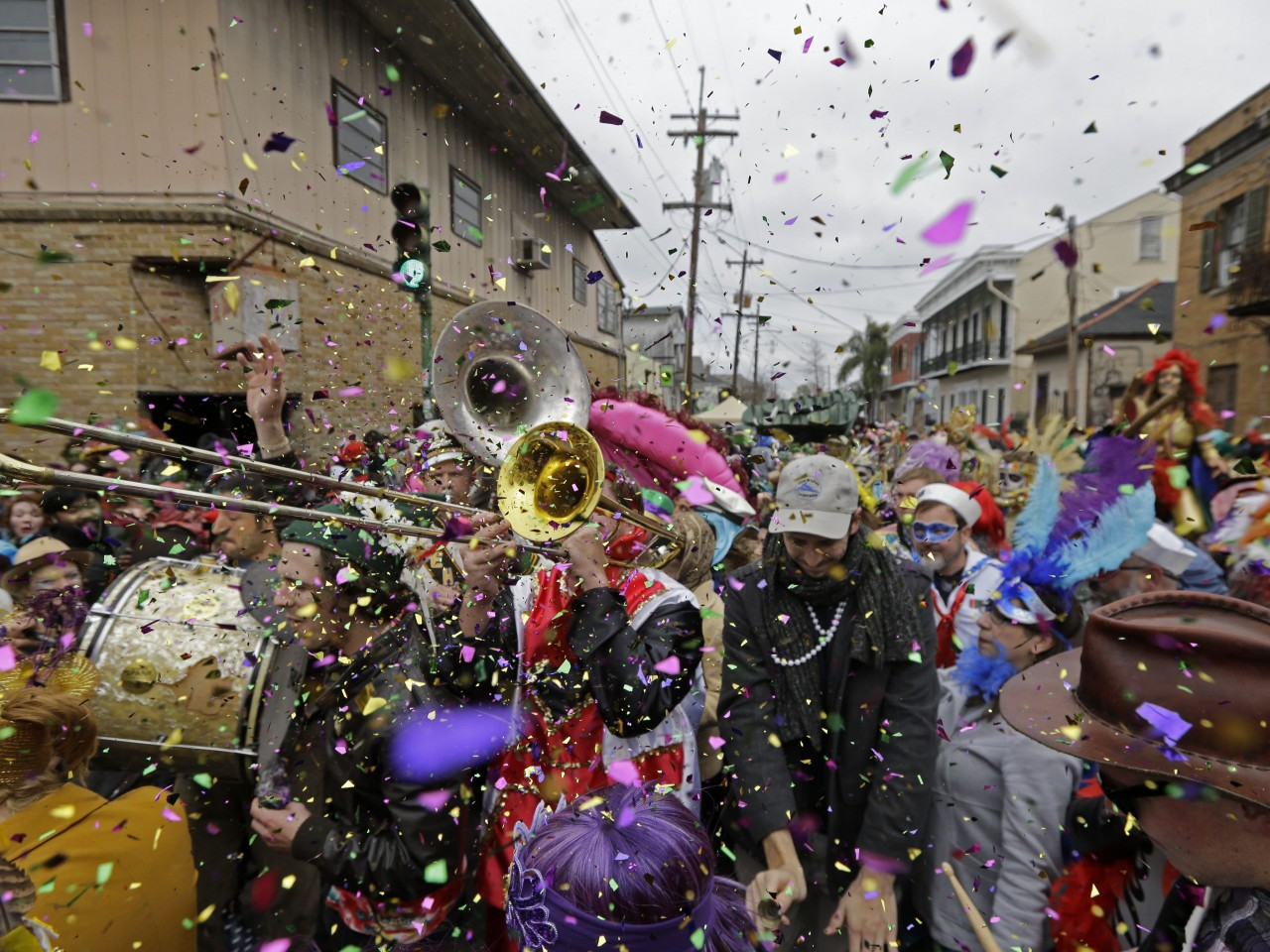 Mardi Gras in New Orleans: A day of parades, partying - Salon.com