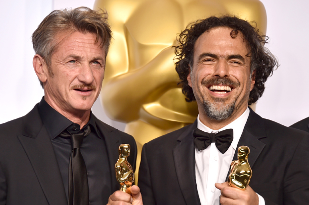 Photo of Alejandro González Iñárritu & his friend, director  EnlargeSean Penn