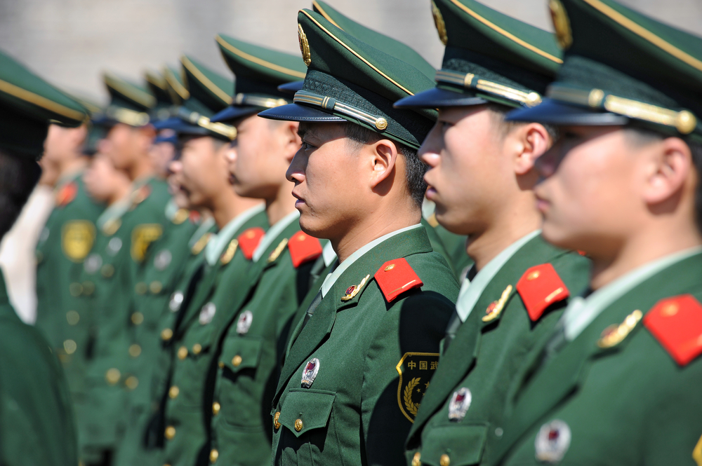 Body weight will now be a factor for Chinese military officer promotions