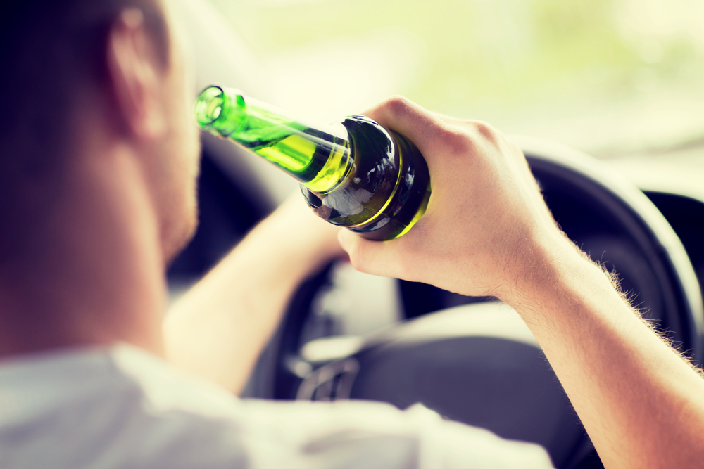 driving even a em little em bit drunk increases your chance of