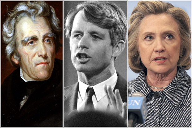 "America's ""scandal"" problem: Andrew Jackson, RFK and today's demented politics EnlargeAndrew Jackson ..."