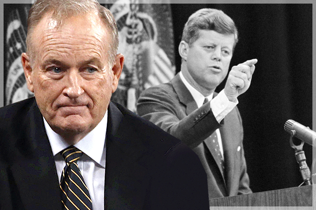 O'Reilly's trouble deepens: A Kennedy tall tale that could unravel Fox News' bully