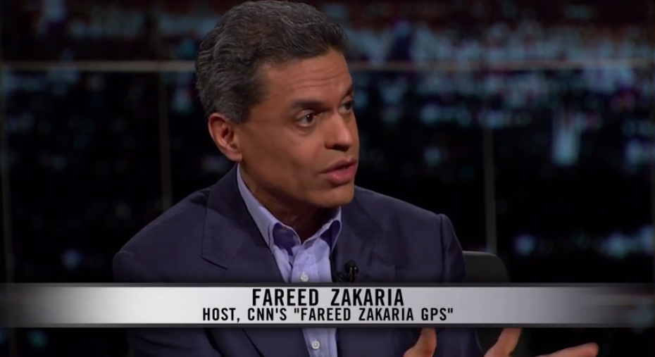 Screen Shot 2015 04 11 at 7.06.54 AM fareed zakaria tees off on bill maher \u201cyou're not persuading people
