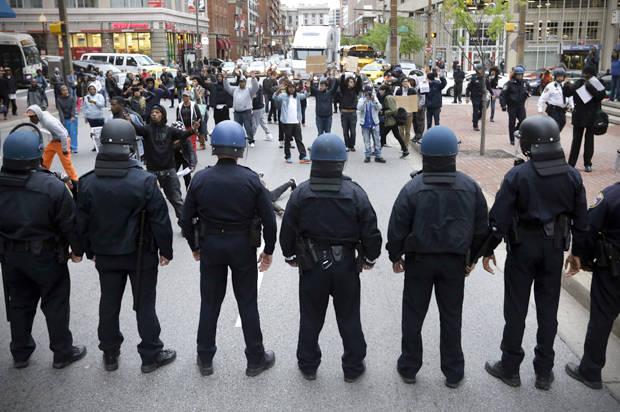 Anarhie în America    AP/Patrick Semansky)