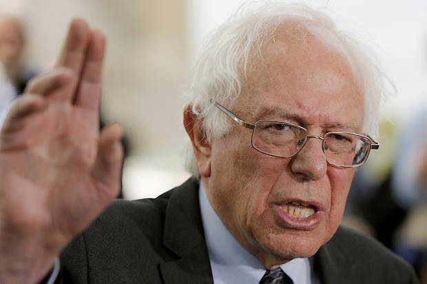 Bernie sanders i m not a great fan of benjamin netanyahu