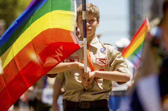 Matt The Scout Boy Credits Version 2: Gay Boy Scout Leader Hired In New York: €�We Said Yes To