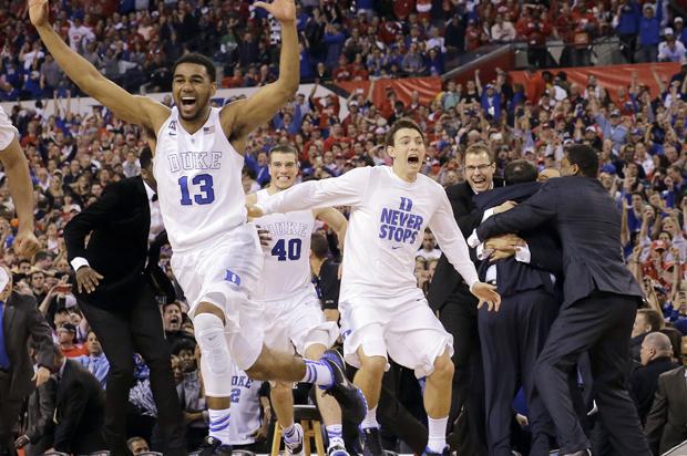 basketball celebrate