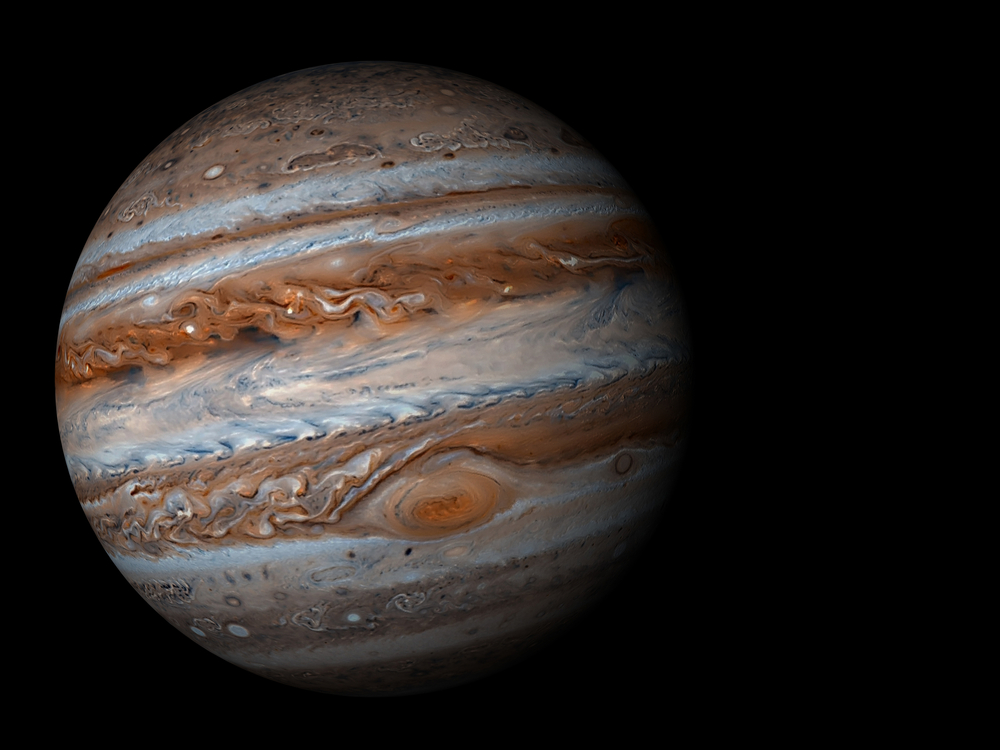 Real Pictures Of Jupiter The Planet Thank our lucky...