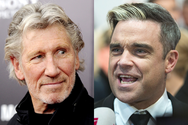 """Roger Waters to Robbie Williams: """"Your decision to play in Tel Aviv gives succor to Netanyahu and his regime, and endorses their deadly racist policies"""""""