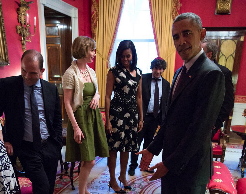 Obama And Kids Video